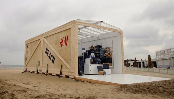 Pop Up Store de H&M