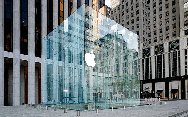 apple cubo nueva york